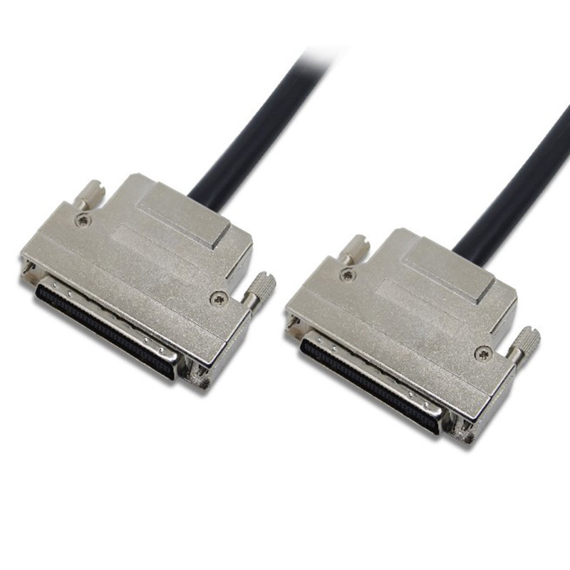 High Density Scsi Cable 68pin Male High Density Scsi