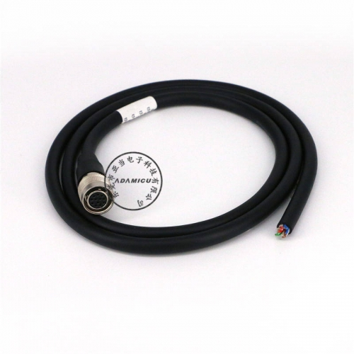 ccd camera cable 12pin circular industrial camera cable