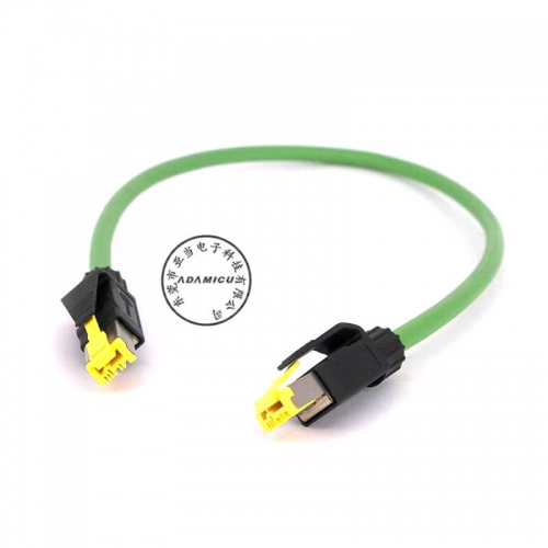 Harting RJ45 connector Ethernet network cable